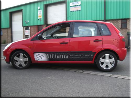 Norman Williams Driving school vehicle branding / livery - 1