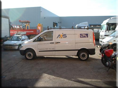 Axis Vito Fleet Livery 2