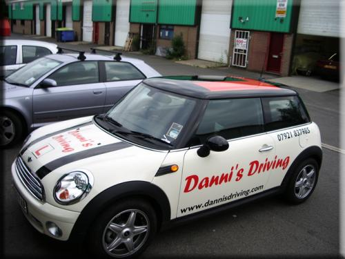 Danni`s Driving School vehicle branding / livery