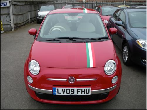 Styling Stripes Or Decals On Red 500 The Fiat Forum