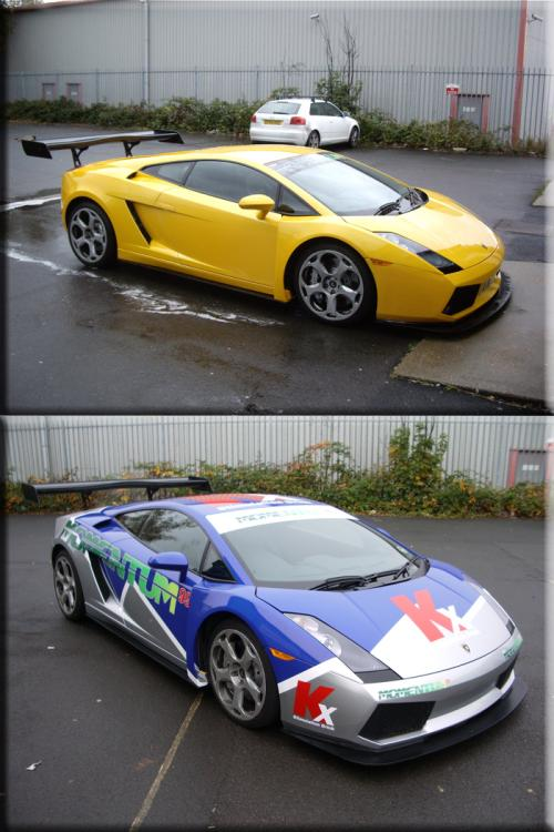 Tms Lamborghini Gallardo Wrap Vinyl Creations
