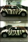 BMW Mini Zebra livery