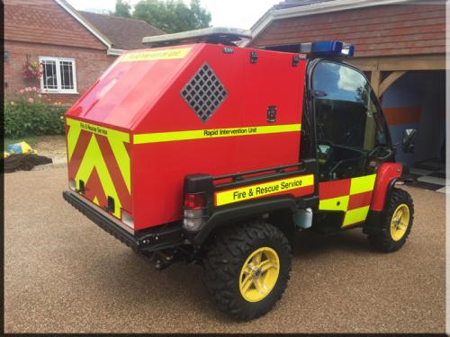 Chapter 8 Fire & Rescue vehicle reflective vinyls